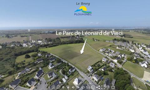 vue-aerienne-plouhinec-parc-leonard-de-vinci_1