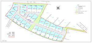 Plan de masse - Lotissement Locoal Mendon